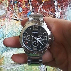 Fossil Men's Stainless steel silver watch